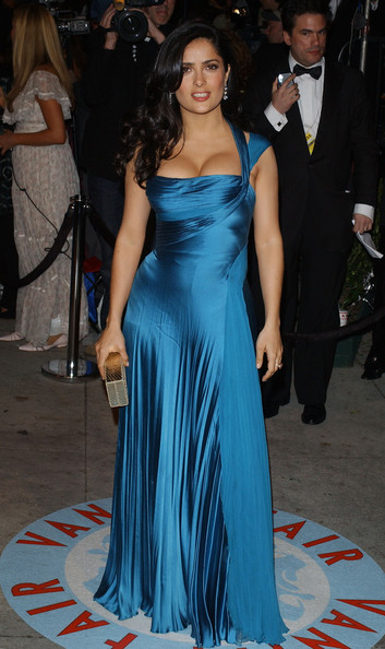 Salma Hayek Evening Dress