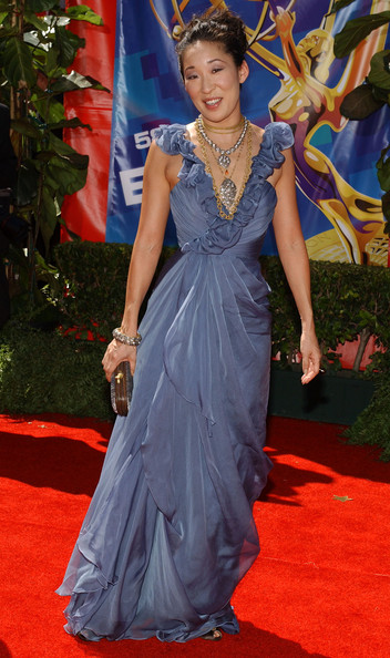 Sandra Oh Evening Dress