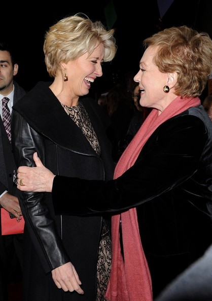 More Pics of Julie Andrews Short Side Part (1 of 27) - Short Hairstyles Lookbook - StyleBistro []