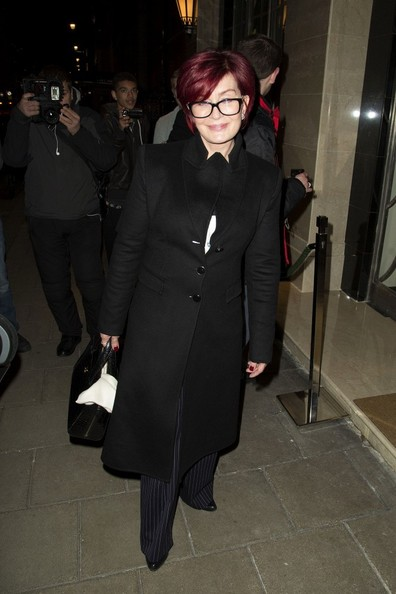 Sharon Osbourne Wool Coat