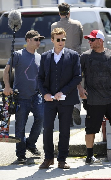 Simon Baker Men's Suit