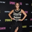 Vanessa Hudgens Wore Naeem Khan at the 'Spring Breakers' Premiere in Hollywood