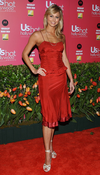 Stacy Keibler Corset Dress