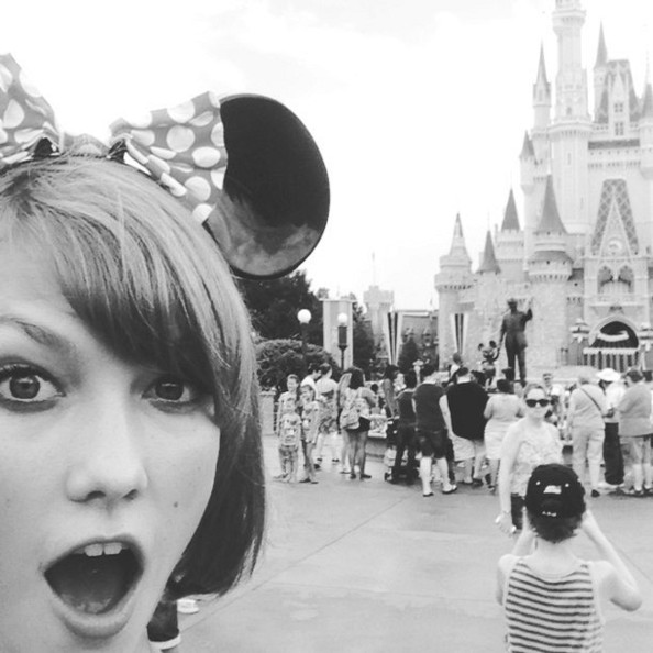Karlie Kloss Goes to the Happiest Place on Earth