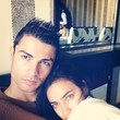 Irina Shayk Cuddles Up With Christiano Ronaldo