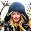 Nicky Hilton Busts Out the Furry Hat