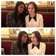Gabrielle Union and Michelle Dockery Goof Around