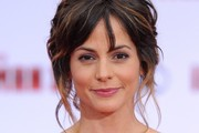Stephanie Szostak Bobby Pinned updo