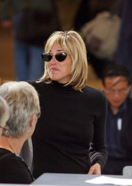 More Pics of Sharon Stone Cateye Sunglasses (1 of 8) - Sharon Stone Lookbook - StyleBistro