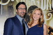 Jennifer Westfeldt Gets Glam with a Christian Louboutin Carillon Clutch