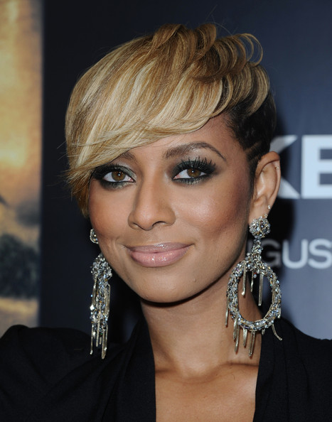 Keri Hilson knows how to add drama to her look. The starlet did just that with smoked out eyes at the premiere of 'Takers.'