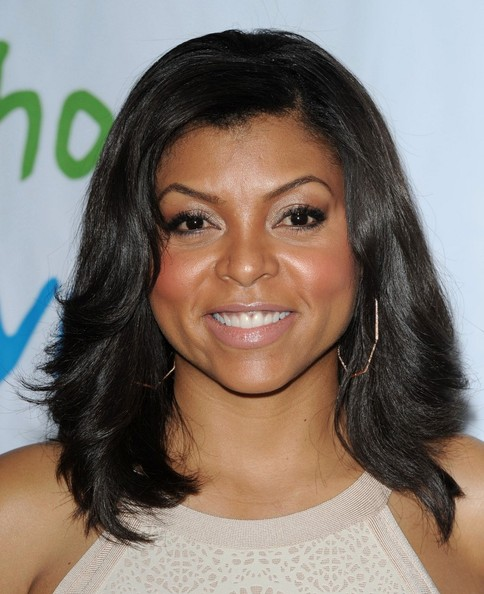 Taraji P. Henson Medium Layered Cut
