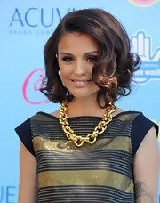 Cher's bouncy curls had a retro-chic feel to them at the TCAs.