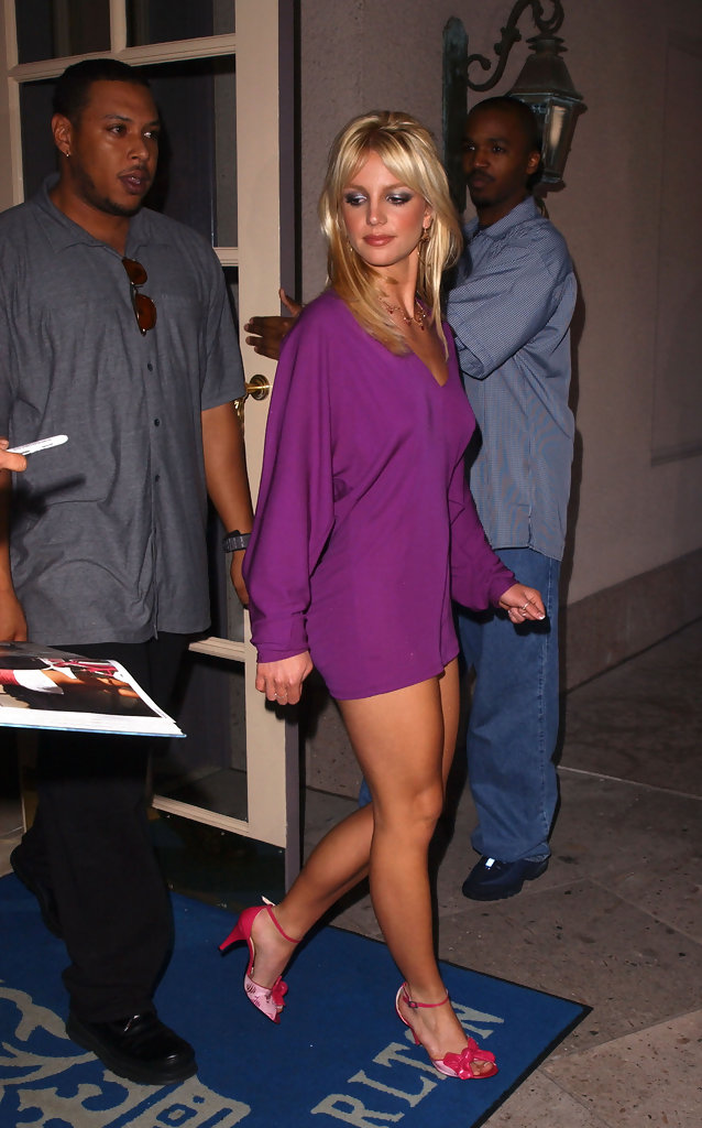 More Pics Of Britney Spears Cocktail Dress 3 Of 4