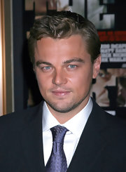 Leonardo DiCaprio sported boyish waves when he attended the premiere of 'The Departed.'