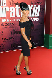 Jada was yet another star to sport the fabulous spiked Clou Noued slingbacks on the red carpet.