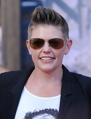 Natalie Maines rocked a super-cool fauxhawk.