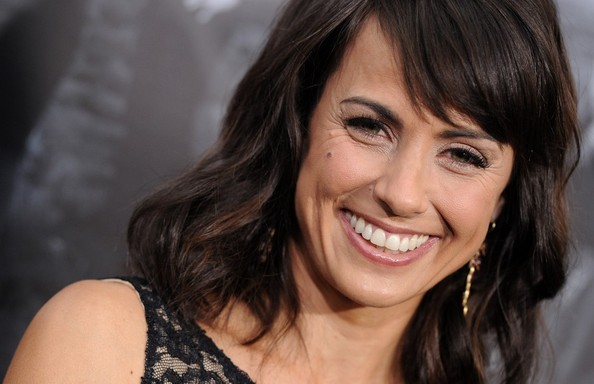 More Pics of Constance Zimmer Medium Wavy Cut with Bangs (2 of 10) - Constance Zimmer Lookbook - StyleBistro