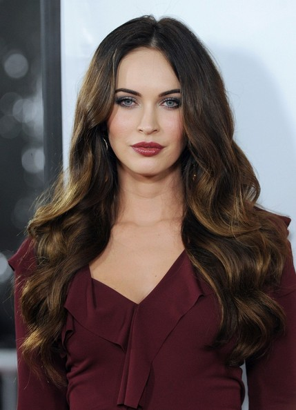More Pics of Megan Fox Long Wavy Cut (4 of 36) - Long Wavy Cut Lookbook - StyleBistro