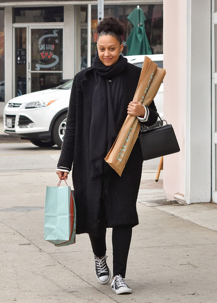 Tia Mowry Canvas Sneakers