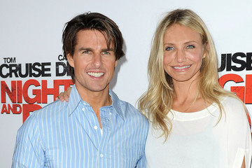 Tom Cruise Cameron Diaz Tom Cruise and Cameron Diaz at the Tour de France 2