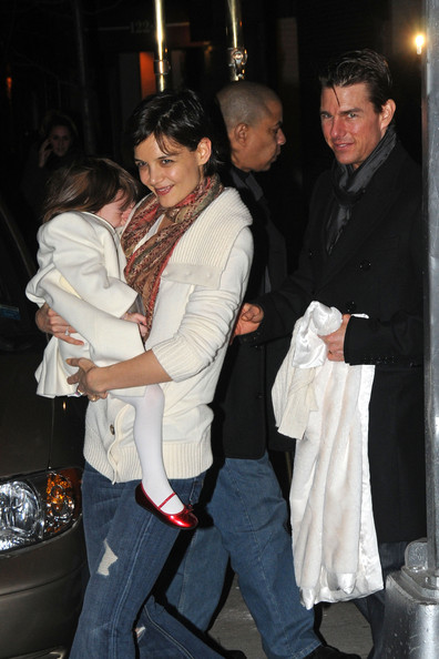 More Pics of Katie Holmes Leggings (1 of 6) - Katie Holmes Lookbook - StyleBistro