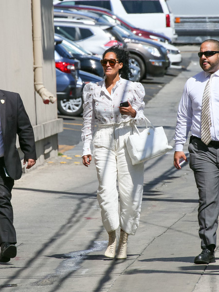 Tracee Ellis Ross Leather Tote