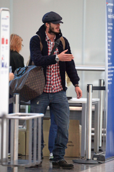 More Pics of David Beckham Newsboy Cap (2 of 11) - David Beckham Lookbook - StyleBistro
