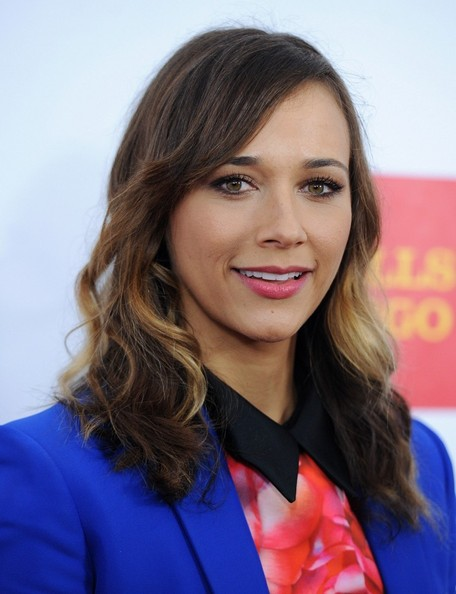 More Pics of Rashida Jones Pantsuit (1 of 4) - Rashida Jones Lookbook - StyleBistro