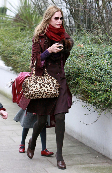 More Pics of Trinny Woodall Wool Coat (1 of 6) - Wool Coat Lookbook - StyleBistro