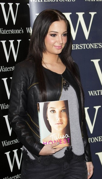 More Pics of Tulisa Contostavlos Long Center Part (3 of 5) - Long Hairstyles Lookbook - StyleBistro