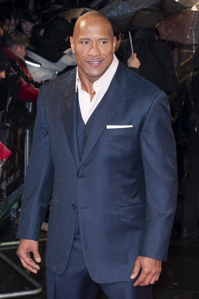 More Pics of Dwayne Johnson Men's Suit (1 of 5) - Men's Suit Lookbook - StyleBistro