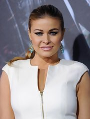 Carmen Electra wore her hair in a super-sleek ponytail at the premiere of 'Underworld: Awakening.'