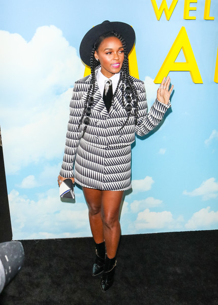 More Pics of Janelle Monae Skirt Suit (3 of 4) - Janelle Monae Lookbook - StyleBistro []