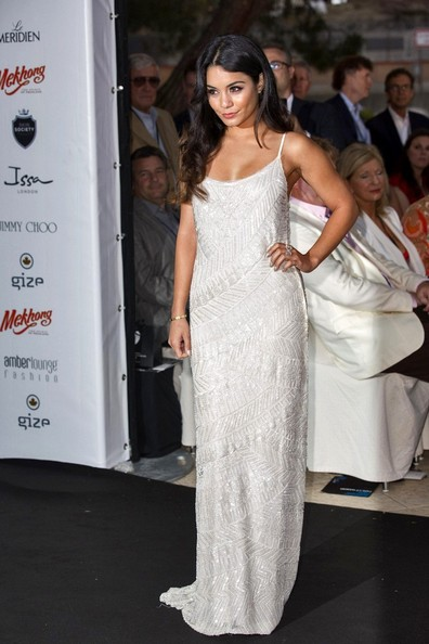 Vanessa Hudgens Beaded Dress