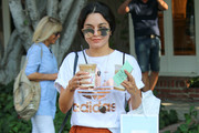 Vanessa Hudgens Leather Sneakers