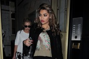Vanessa White Silk Pants