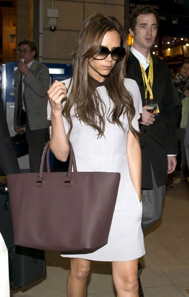 Victoria Beckham in a 'Little White Dress.'