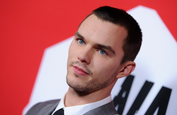 More Pics of Nicholas Hoult Men's Suit (3 of 14) - Men's Suit Lookbook - StyleBistro