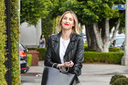 Whitney Port Leather Tote