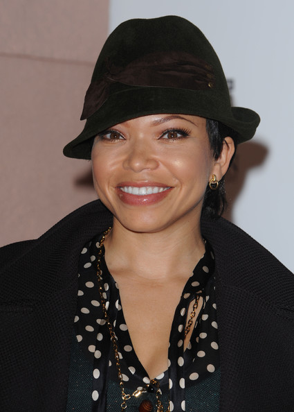More Pics of Tisha Campbell-Martin Pantsuit (1 of 2) - Tisha Campbell-Martin Lookbook - StyleBistro
