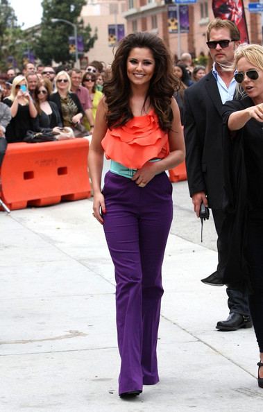 More Pics of Cheryl Cole Slacks (1 of 9) - Cheryl Cole Lookbook - StyleBistro