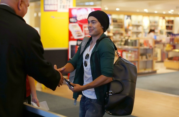 Zac Efron Duffle Bag