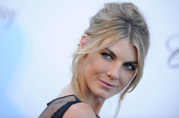 More Pics of Angela Lindvall Bobby Pinned Updo (1 of 13) - Angela Lindvall Lookbook - StyleBistro