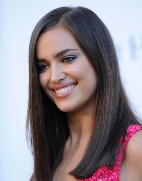 More Pics of Irina Shayk Long Straight Cut (1 of 13) - Long Straight Cut Lookbook - StyleBistro