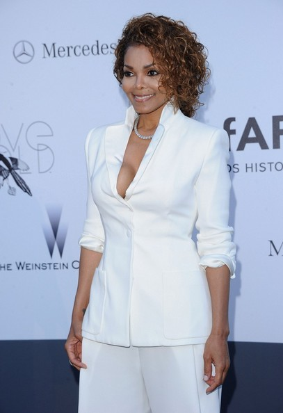 More Pics of Janet Jackson Pantsuit (1 of 12) - Janet Jackson Lookbook - StyleBistro