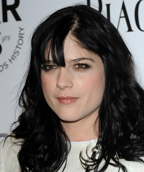 More Pics of Selma Blair Layered Chainlink Necklaces (1 of 4) - Selma Blair Lookbook - StyleBistro