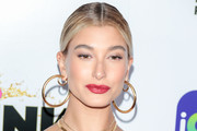 Hailey Baldwin Red Lipstick