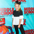 JoJo Siwa Lookbook: JoJo Siwa wearing Ponytail (2 of 2). JoJo Siwa sported a high ponytail at the premiere of 'Middle School: The Worst Years of My Life.'