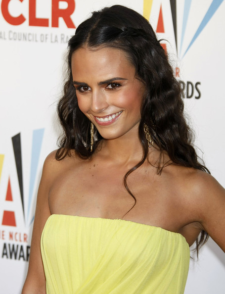More Pics of Jordana Brewster Gold Chandelier Earrings (1 of 4) - Jordana Brewster Lookbook - StyleBistro
